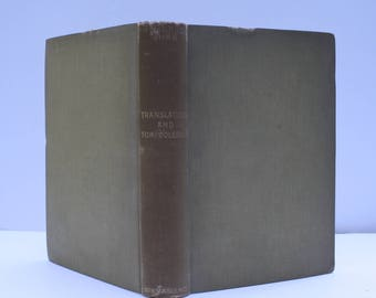 Translations and Tomfooleries by Bernard Shaw - Constable and Company Ltd. London 1926 - 2nd printing