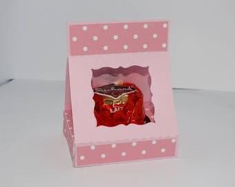 Place name brand chocolate box