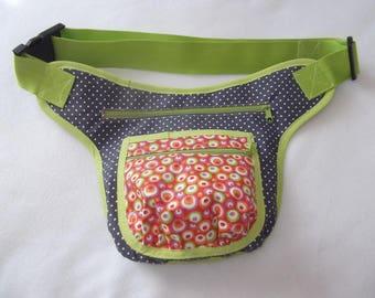 Waist belt treats bag