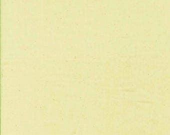 Tissu 100% coton patchwork uni blanc cassé