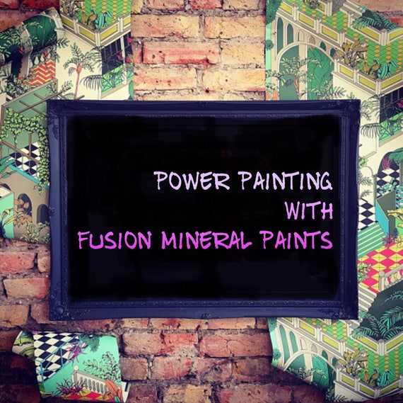 WEDNESDAY 14th MARCH evening power painting workshop