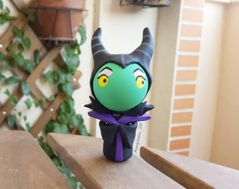 Maleficent chibi / Maleficent 3 inches