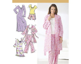 Misses Size Extra Large pajamas pants PJ shorts, robe, knit nightgown or top.