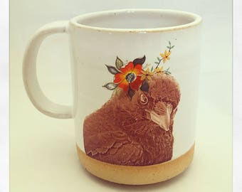 Talk to the Animals -Raven Mug