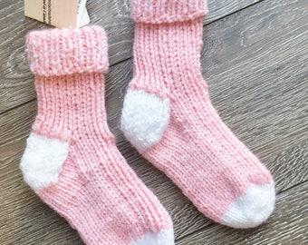 Toddler shoe size 8-9,  Knitted Socks, Warm Children Socks