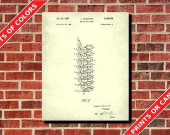 Golfing Wall Art, Golf Club Set Patent Print, Vintage Golf Poster, Golfer Gift, Golf Decor, Golf Wall Art, Golfing Poster, Golf Wall Art