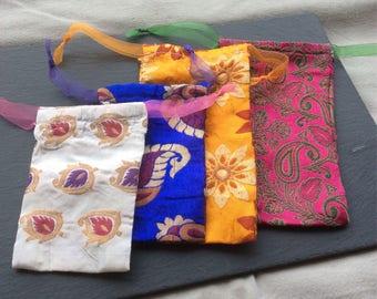 Silk gift bag, gift bag, small, medum, large