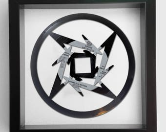 Metallica 'Nothing Else Matters' Vinyl Record Art