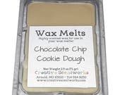 CLEARANCE Chocolate Chip Cookie Dough Scented Wax Melts, Wax Cubes, Wax Tart, Wickless Candle, Melting Wax, Wax Melt, Chocolate, Scent Bar