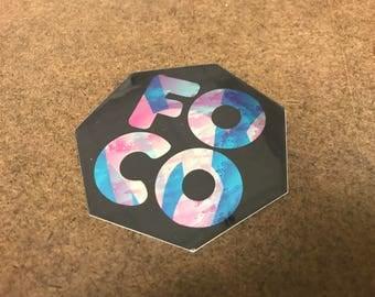Fort Collins FOCO Sticker