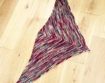 Reyna Shawl hand knit