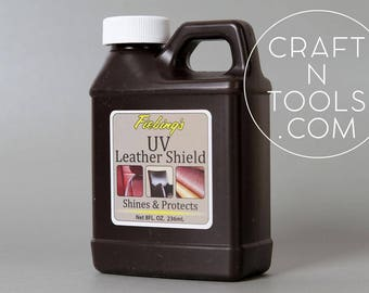 Fiebing's UV Leather Shield 8 oz 236ml/Harness Oil/Restore Leather/Leather Conditioner/Leather Care/UV Leather Protector