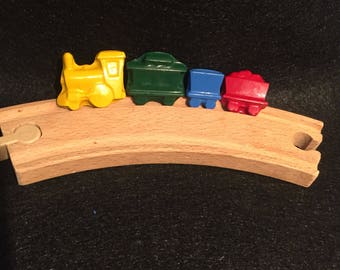 Train Crayons! Party favors. Railroad