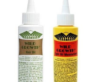 Wild Growth Hair Care System.Promotes hair growth by conditioning and moisturizing your hair and scalp.