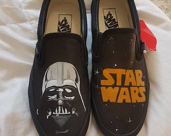 Star Wars Inspired Custom Painted Shoes Vans/Converse Size US W 9