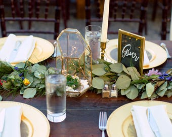 Table Numbers, Wedding Table Numbers, Table Number Holder, Hand Lettered Table Numbers, Table Number Signs, Calligraphy Table Numbers