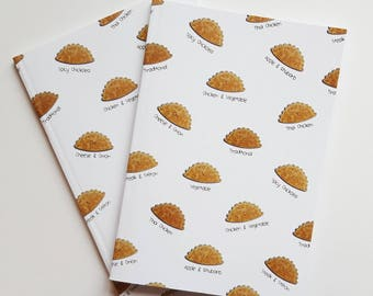 Cornish Pasty - Notebook