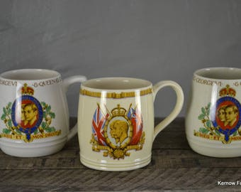 Collection Of Commemorative Cups Mugs (5)