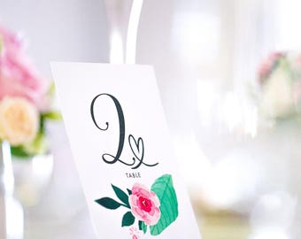 10 table numbers