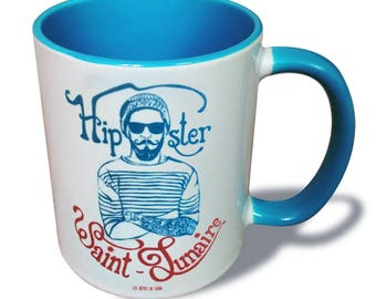 St Lunaire Hipster mug