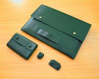 Leather Macbook 12inch Sleeve New Macbook Case 12inch,2017 Macbook Pro Cover Leather Fortfolio Case,15Inch Macbook Pro Case Leather Cover116