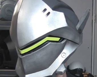 Eva Foam Templates | Genji Overwatch Foam Helmet Templates