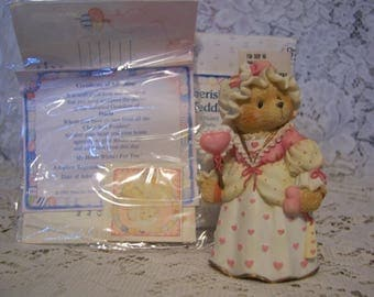 Cherished Teddies DARLA Figurine with Box and Certificate