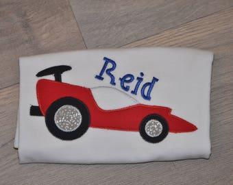 Boys Race Car Shirt