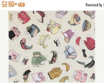 CIJSale Blue Hill Fabric Aunt Lindy's Paper Dolls Around The World 7168 - 8