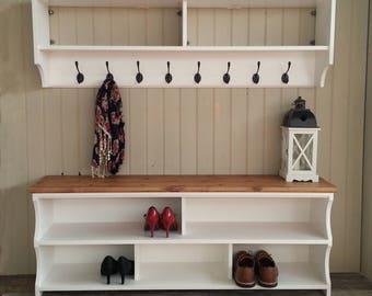Coat Rack Shelf Etsy