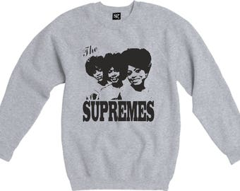 The Supremes Sweatshirt - Classic 60's Soul Icons, Girl Band - Various Colours