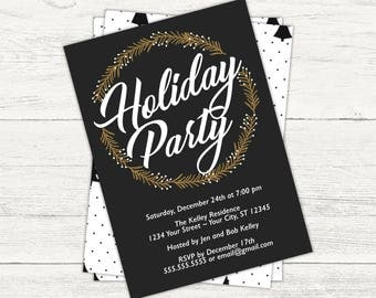 Christmas/Holiday party invitation