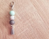 Clay tassel chain