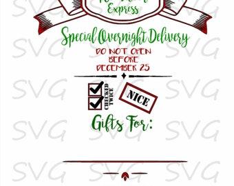 Santa Sack 4 SVG/DXF/EPS