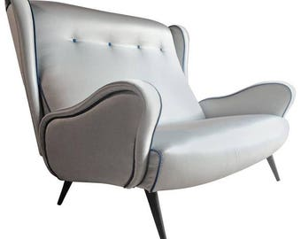 Marco Zanuso Lady sofa settee, Italian Mid Century 1950 Italian