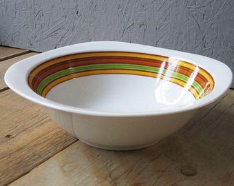 Vintage retro serving bowl, Mid century bowl, Bavaria Germany