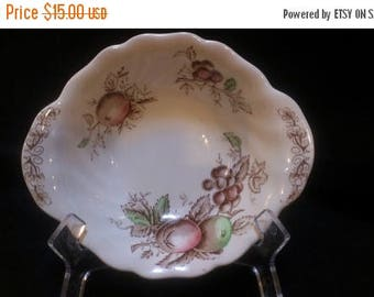 Johnson Bros. Harvest Time Lugged Cereal Bowl (490)