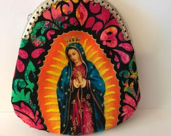 Lady of Guadalupe Coin Purse or Rosary Pouch