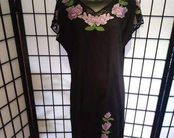 Hand stitched vintage tunic dress