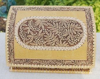 housewarming gift, bread box, wife gift, farmhouse style, birch bark, rowan, for bread, stocking stuffer, rustic home decor, kitchen decor