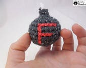 Small Crocheted F-Bomb For Those Little Frustrations