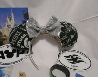 Michigan State Mouse Ears / Headband