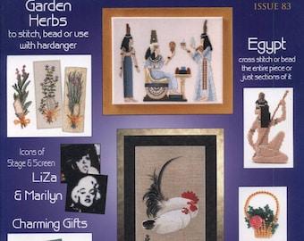 Jill Oxtons Cross Stitch Bead Weaving Issue 83 2011 - PDF ebook - Cross Stitch ebook - Instant download Digital book/magazine