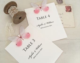 Butterfly Wedding Table Numbers, Wedding Table Names, Table Cards, Wedding Tables, Party Tables Numbers, Table Numbers, Table Names
