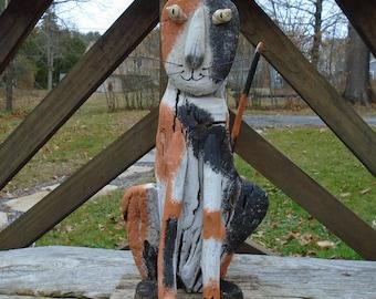 Driftwood Calico Cat!