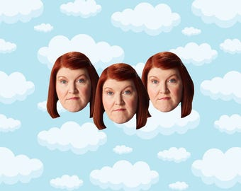 "Meredith Palmer Expressions Sticker Pack 3 ct 2 x 1.5"" - The Office Tv - Office Meredith - Office Tv Show - The Office Tv Gift"