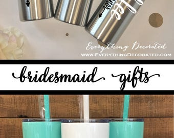 Wedding Gifts, Gift for Her, Bridesmaid Gift Set, Bridal Gift, Maid of Honor Gift, Bride Gift, Mother of the Bride Gift, be my Bridesmaid