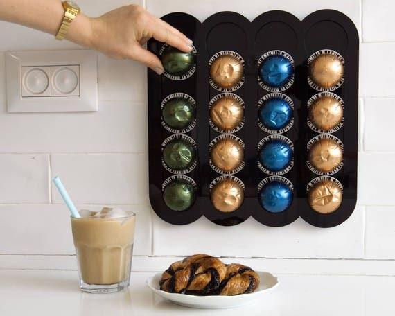Nespresso Vertuoline Black Coffee Pod Holder Magnetic Kitchen