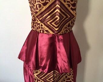Set skirt + top wax
