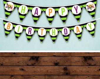 Hocus Pocus Birthday Banner, Hocus Pocus Birthday, Hocus Pocus Party, Hocus Pocus Birthday Party, Hocus Pocus Party Banner